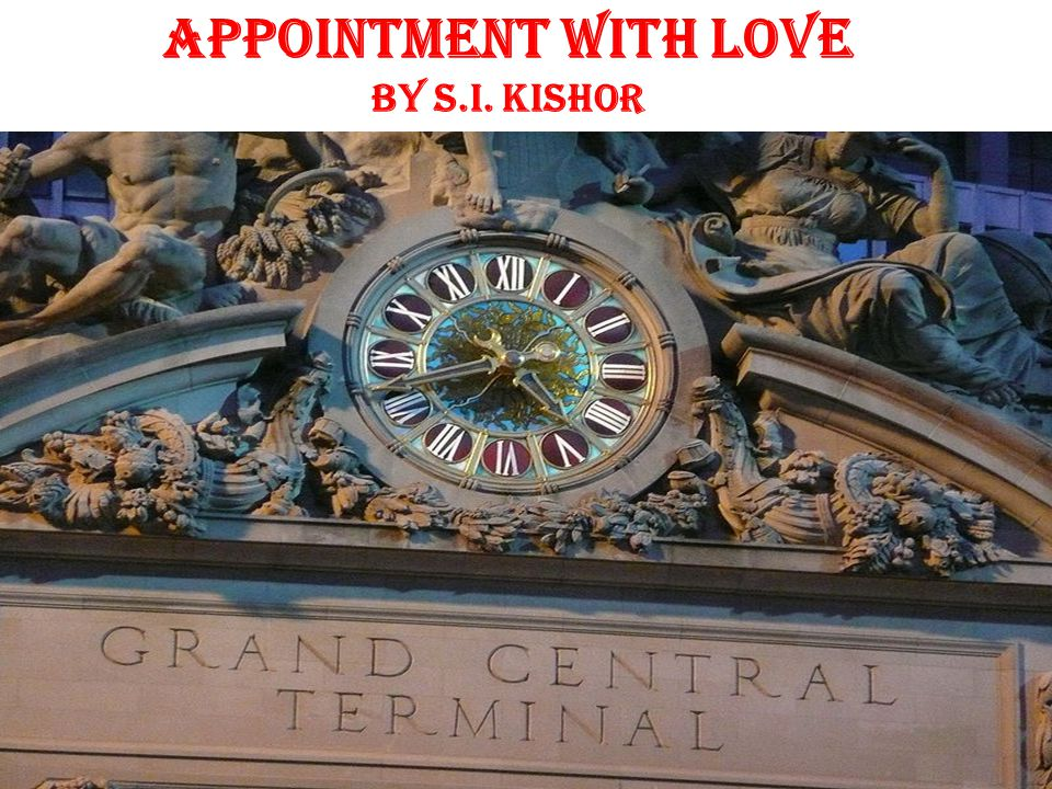 Appointment With Love by S.I. Kishor