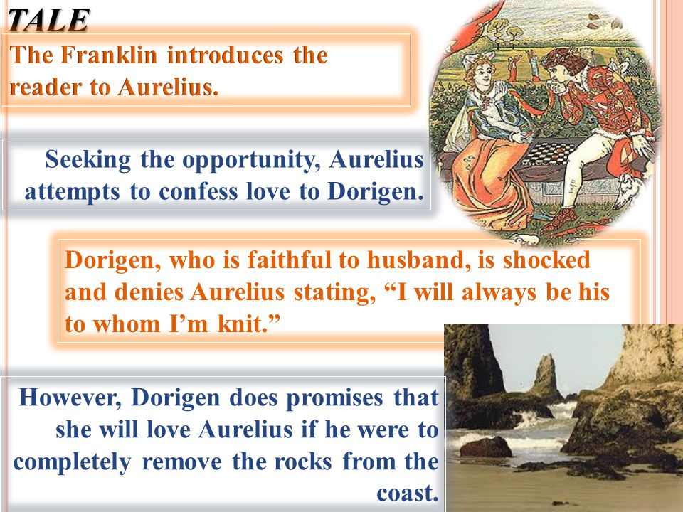 THE FRAKLIN'S TALE The Franklin introduces the reader to Aurelius.