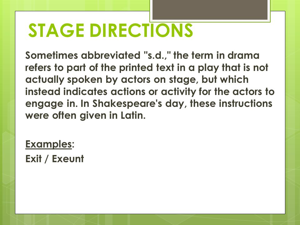 all my sons stage directions