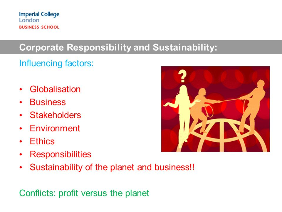 Corporate Responsibility and Sustainability: