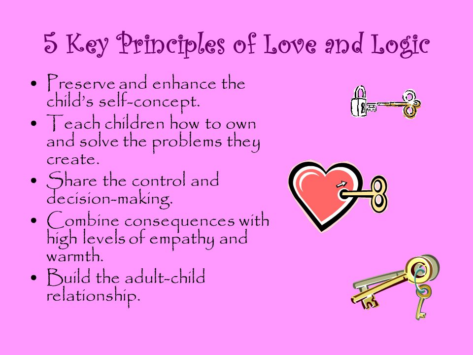 5 Key Principles of Love and Logic