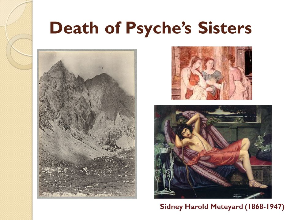 Death of Psyche's Sisters