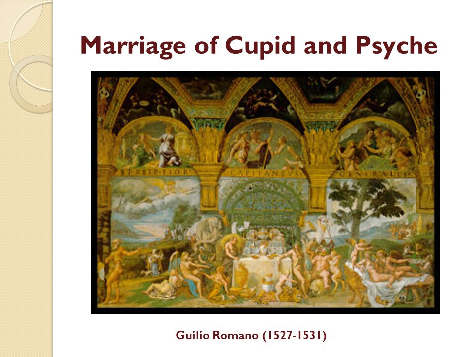 Marriage of Cupid and Psyche