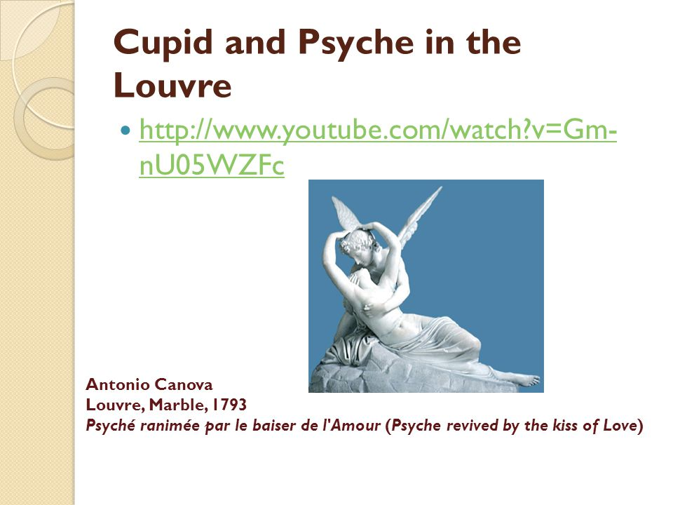 Cupid and Psyche in the Louvre