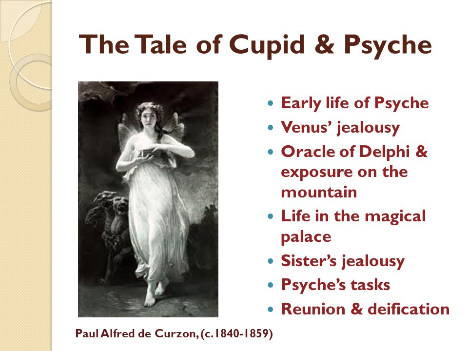 The Tale of Cupid & Psyche