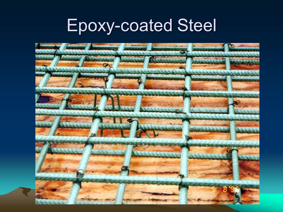 Epoxy-coated Steel
