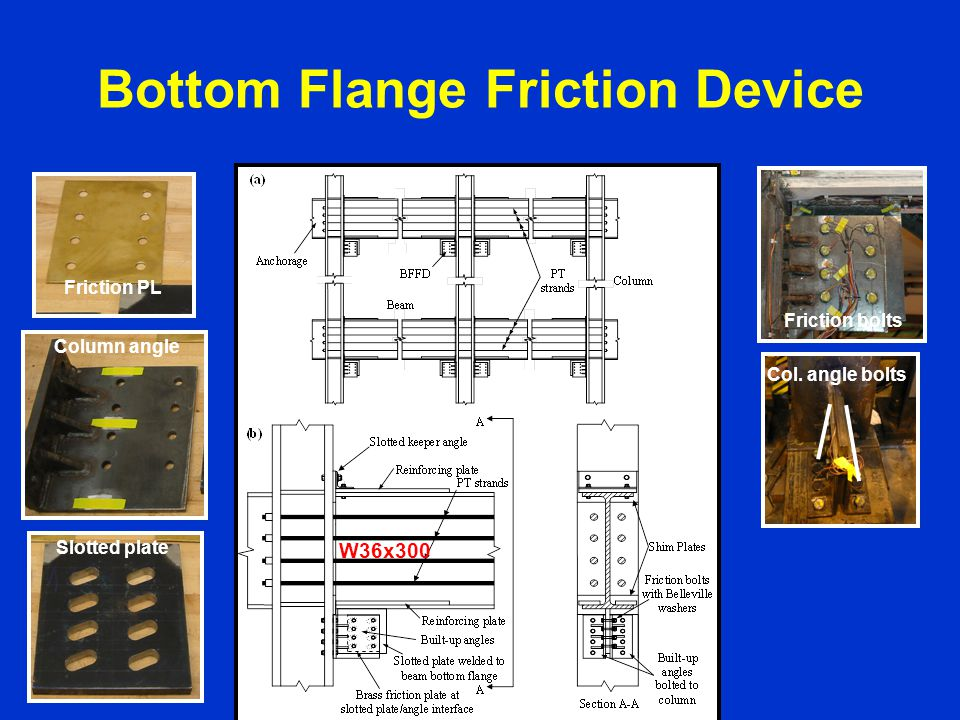 Bottom Flange Friction Device