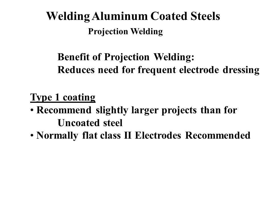 Welding Aluminum Coated Steels