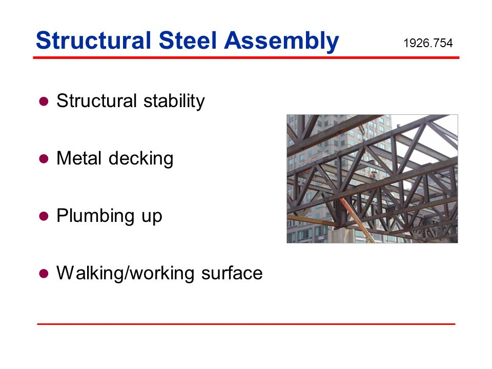 Structural Steel Assembly