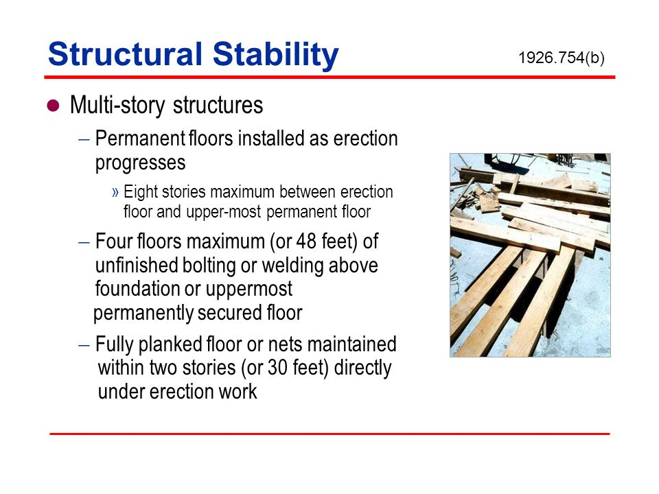 Structural Stability Multi-story structures