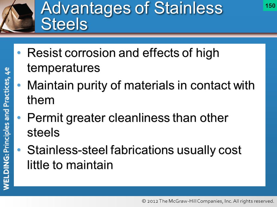 Advantages of Stainless Steels