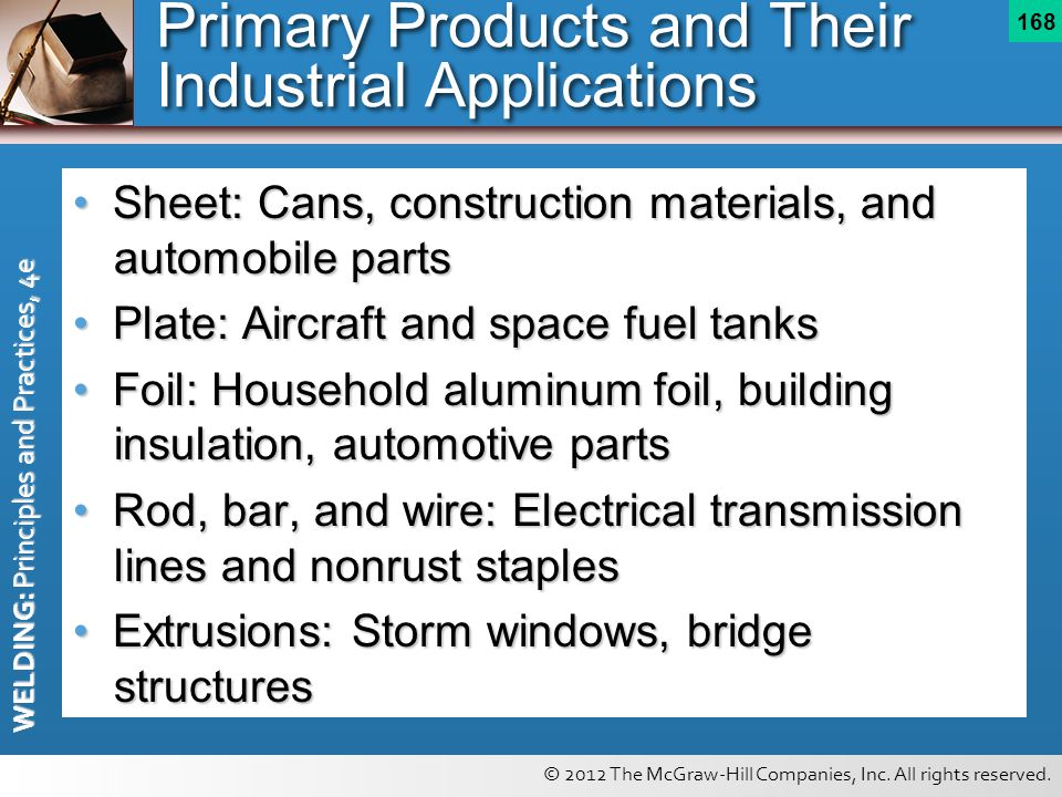 Primary Products and Their Industrial Applications