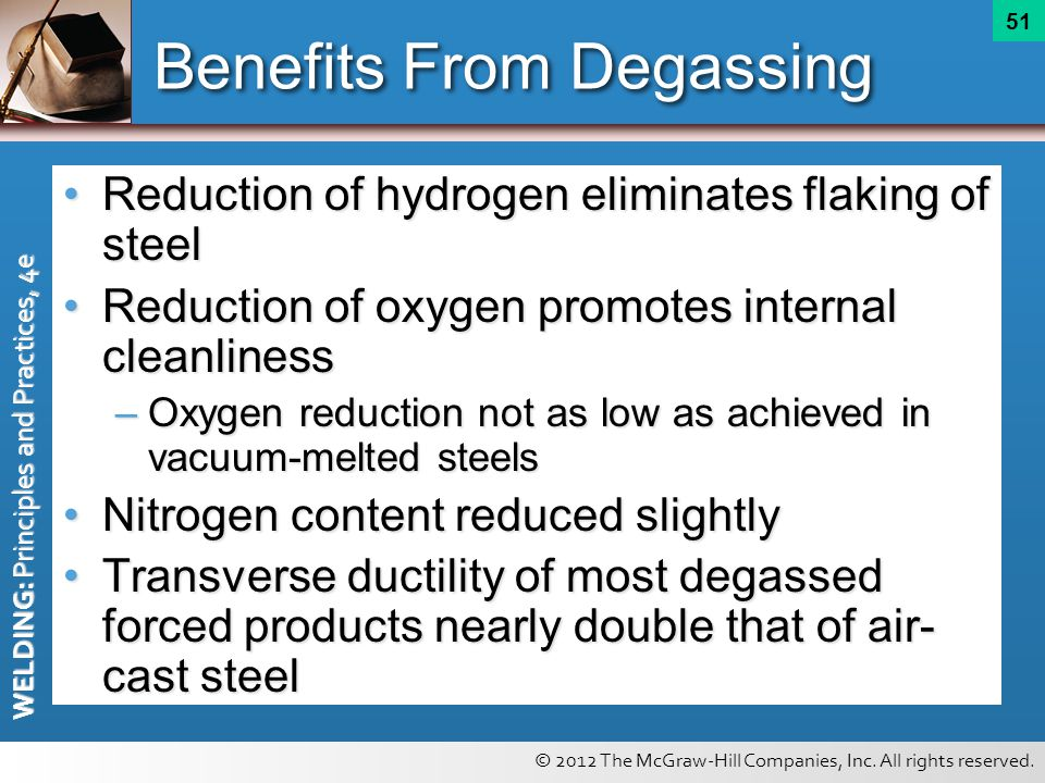 Benefits From Degassing