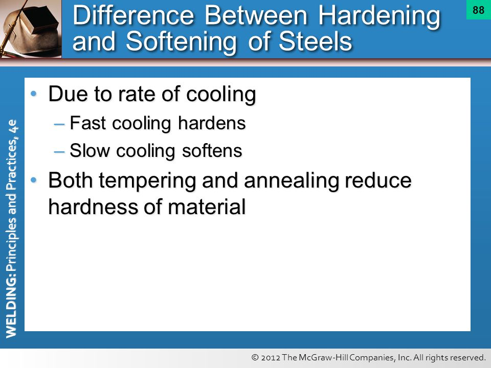 Difference Between Hardening and Softening of Steels
