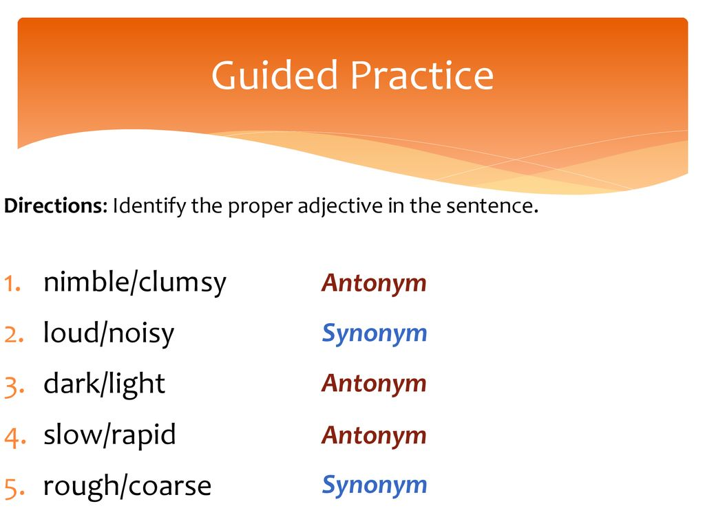 Synonyms and Antonyms Lesson ppt download