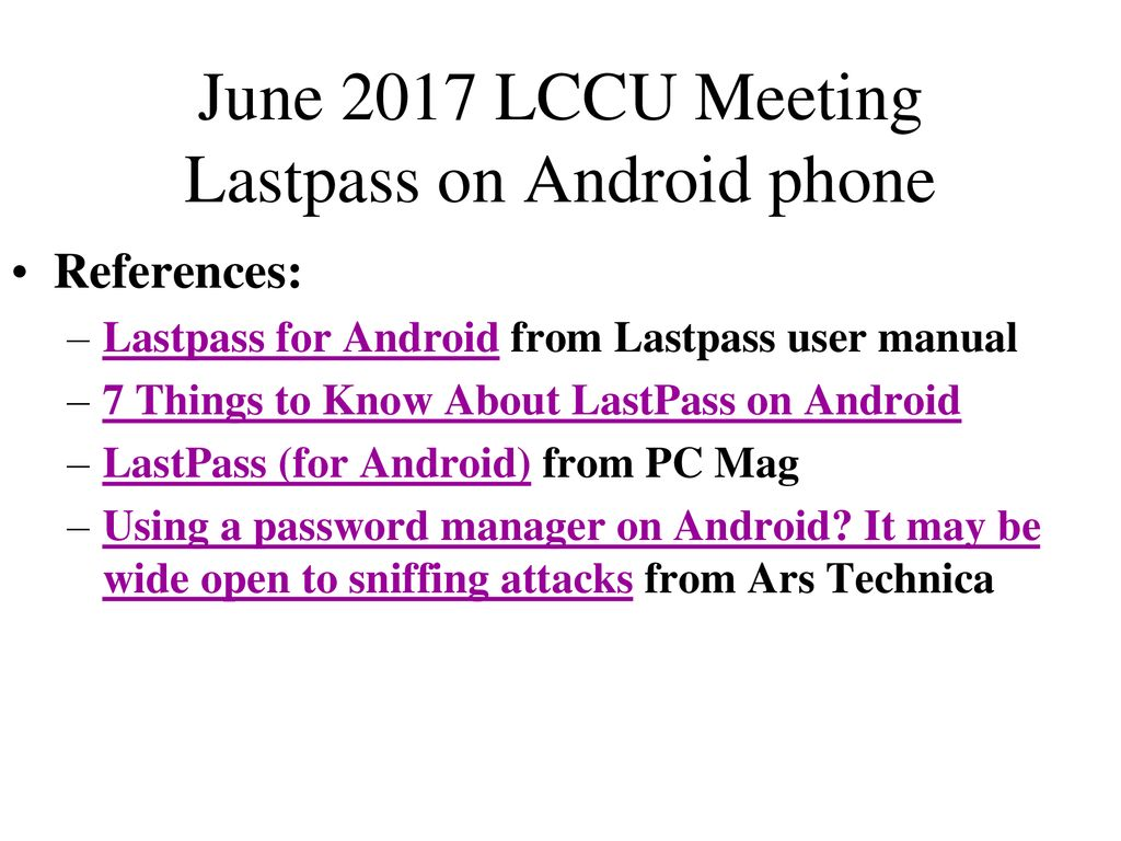 June 2017 LCCU Meeting We'll answers members' questions: - ppt download