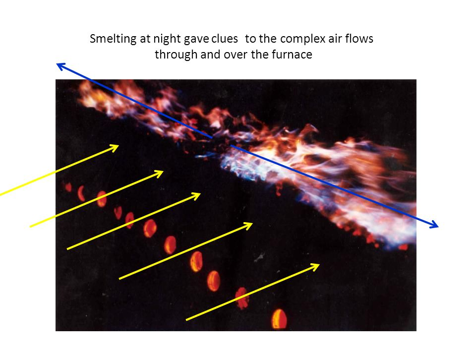 Smelting at night gave clues to the complex air flows