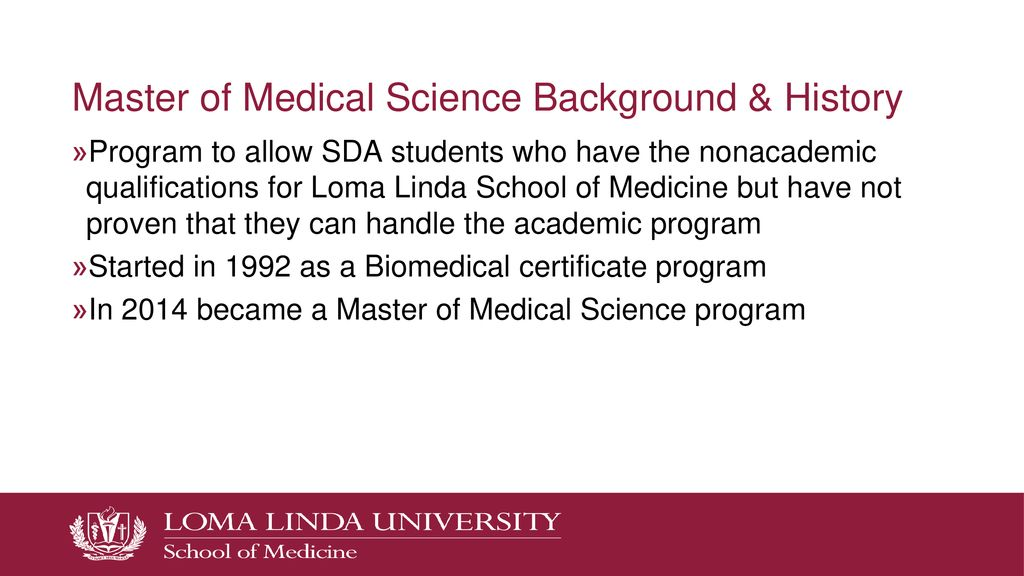 Loma Linda University School of Medicine - ppt download