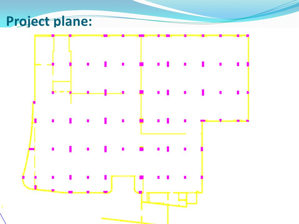Project plane: