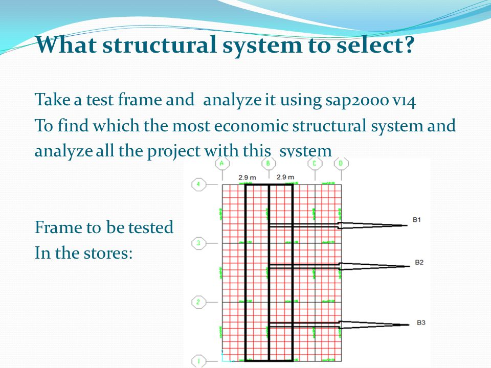What structural system to select