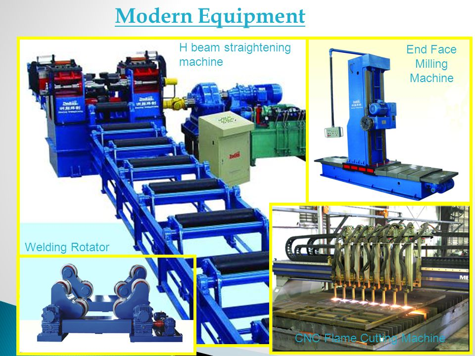 Modern Equipment H beam straightening machine End Face Milling Machine