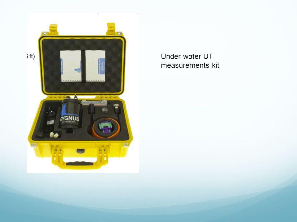 Under water UT measurements kit