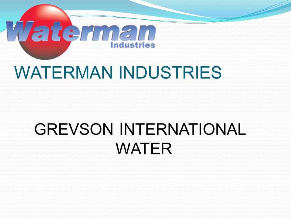 GREVSON INTERNATIONAL WATER