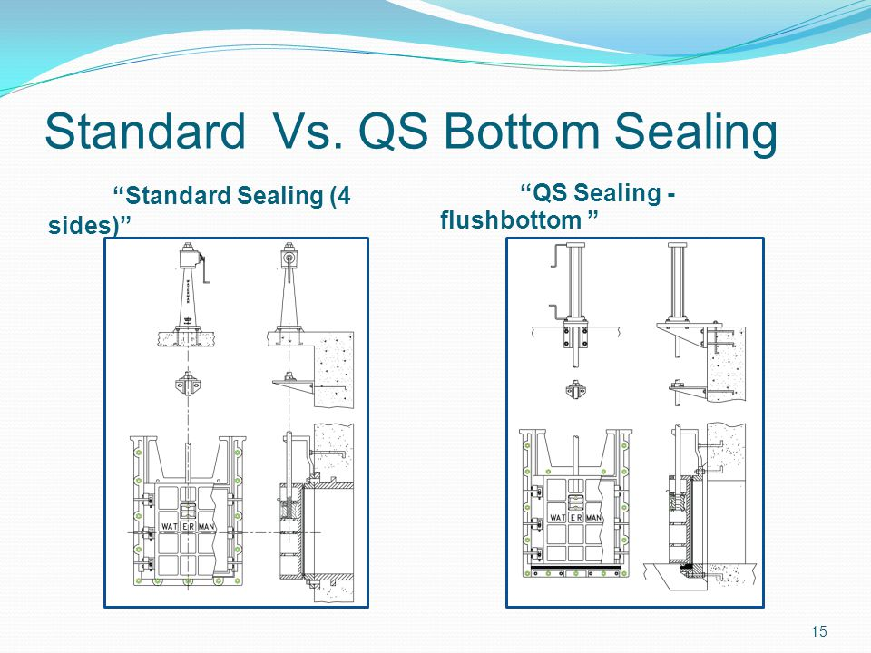 Standard Vs. QS Bottom Sealing