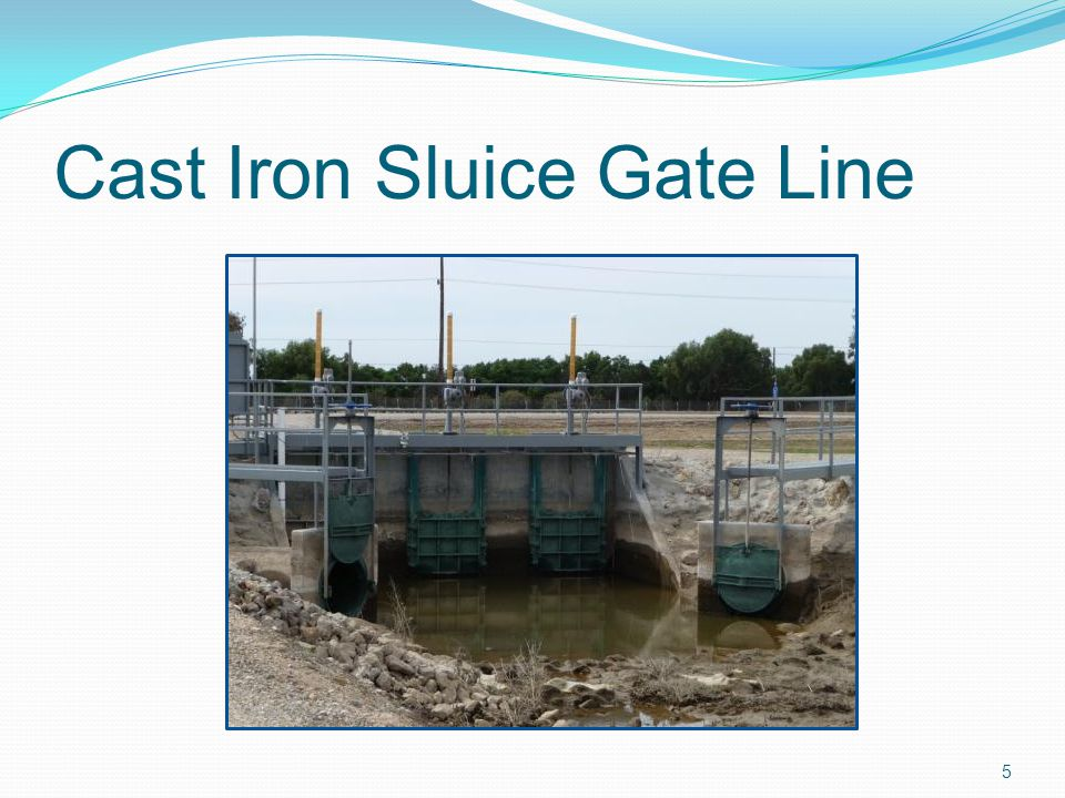 Cast Iron Sluice Gate Line
