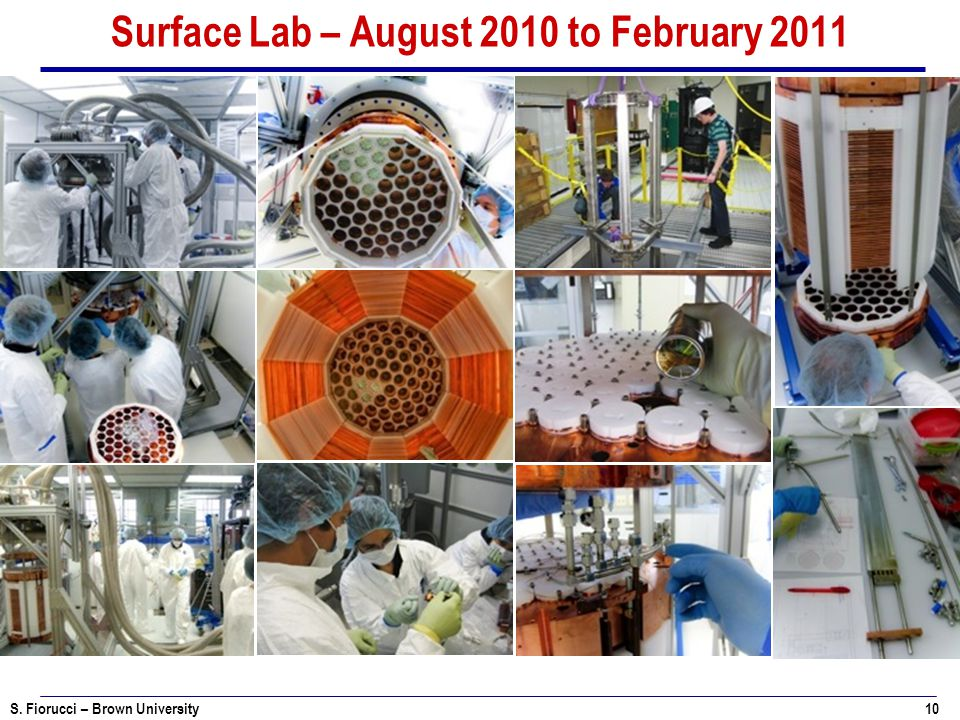 Surface Lab – August 2010 to February 2011