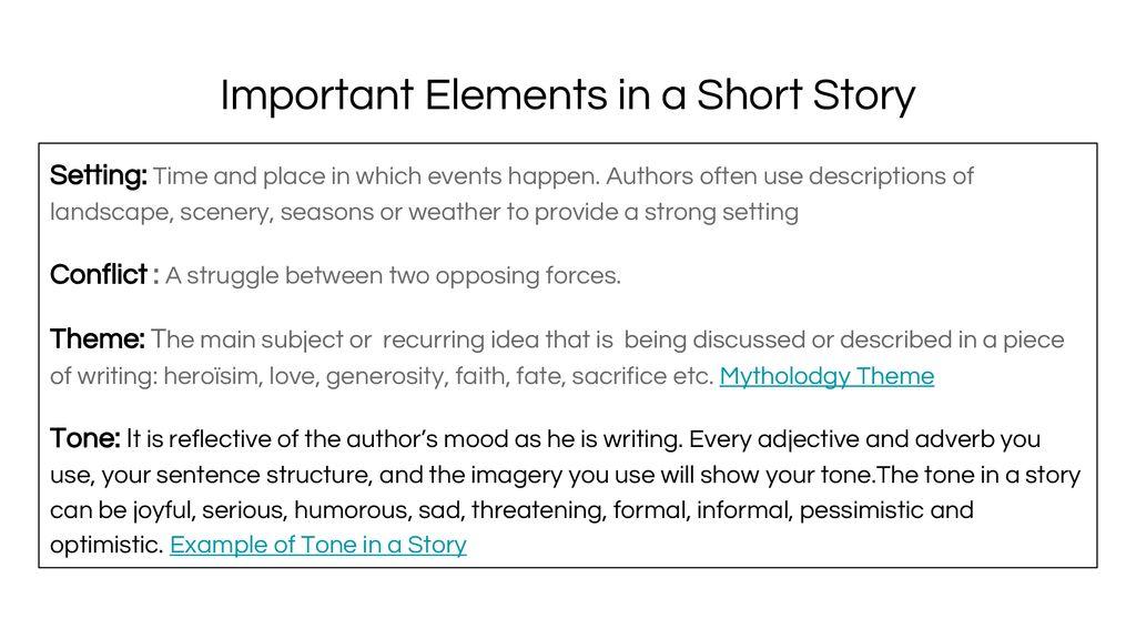 Writing A Short Story Mythological Myth Ppt Download
