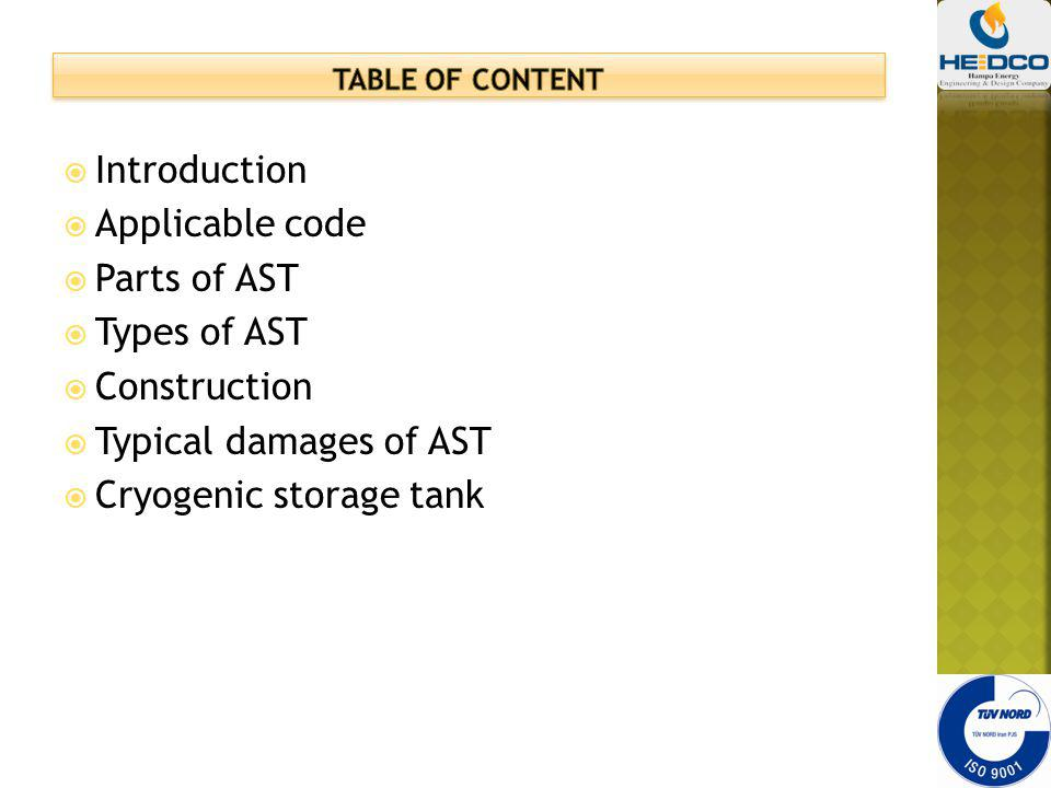 introduction to storage tank - ppt video online download