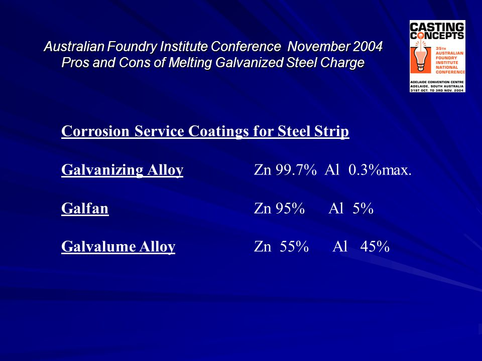 Corrosion Service Coatings for Steel Strip