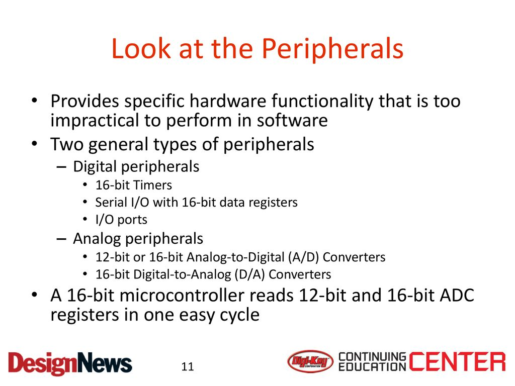 Choosing a Microcontroller Architecture - ppt download
