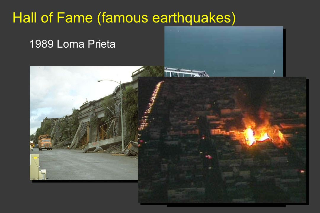 Hall of Fame (famous earthquakes)