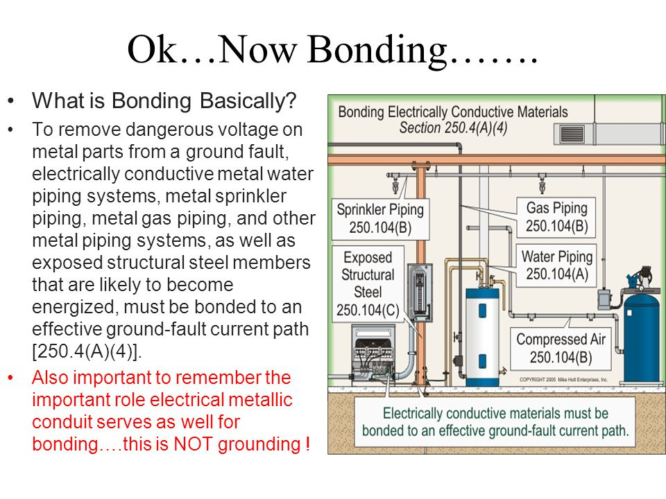 Ok…Now Bonding……. What is Bonding Basically