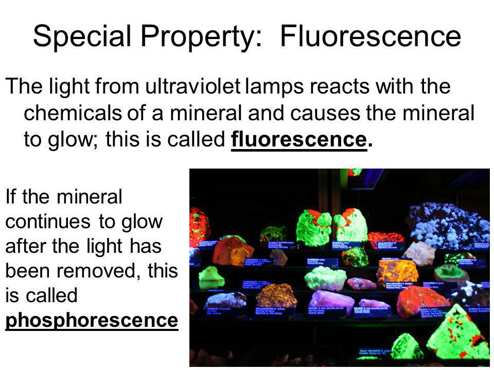 Special Property: Fluorescence