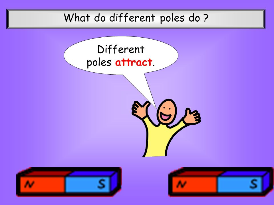 What do different poles do