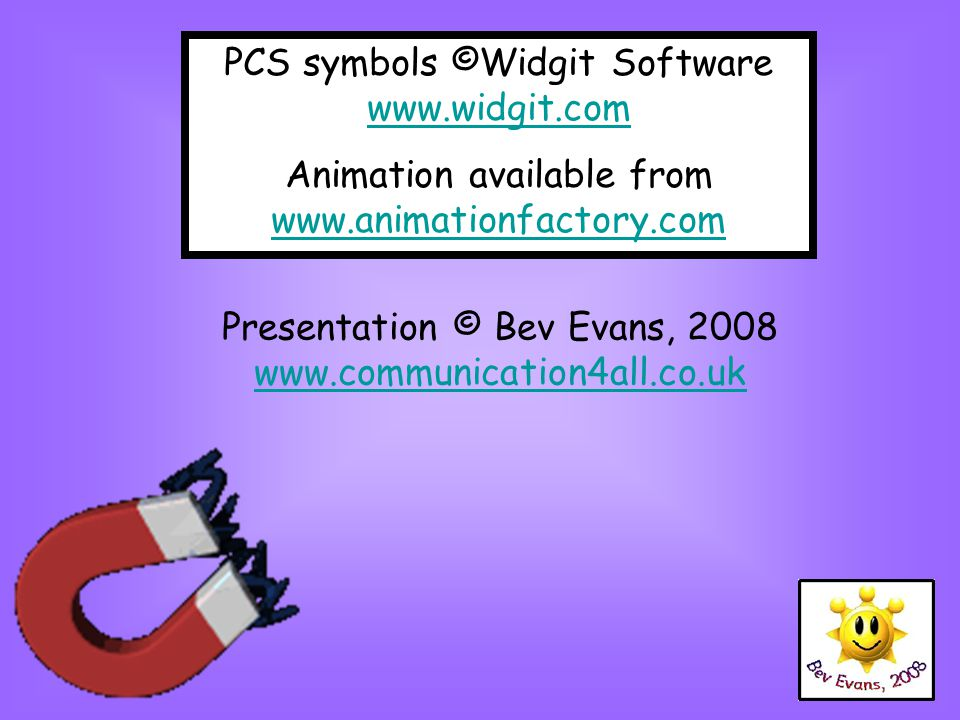 PCS symbols ©Widgit Software www.widgit.com