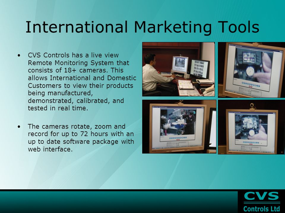 International Marketing Tools