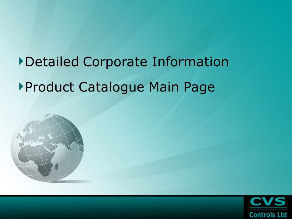 Detailed Corporate Information