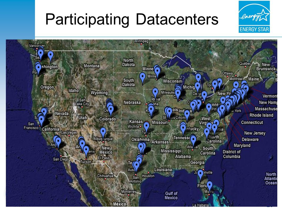 Participating Datacenters