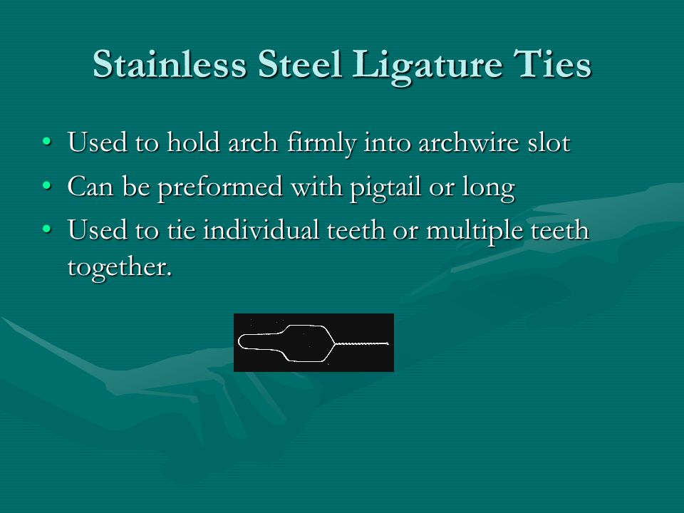 Stainless Steel Ligature Ties