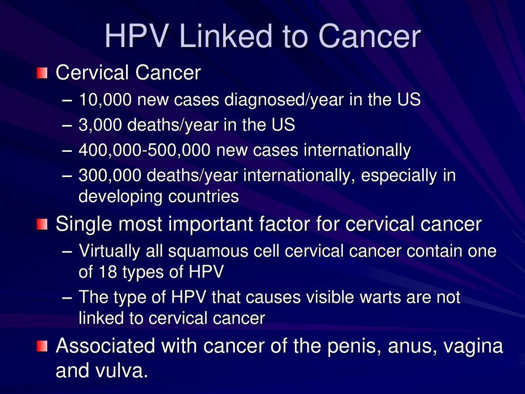 Hpv 18 és péniszrák, HPV okozta daganatok | HPVdoktor