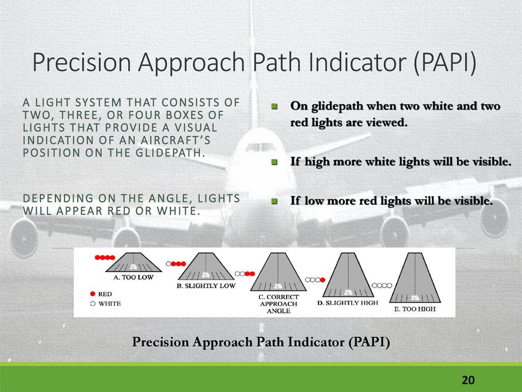 Airport Lighting Runway Lighting Taxiway Lighting - ppt download