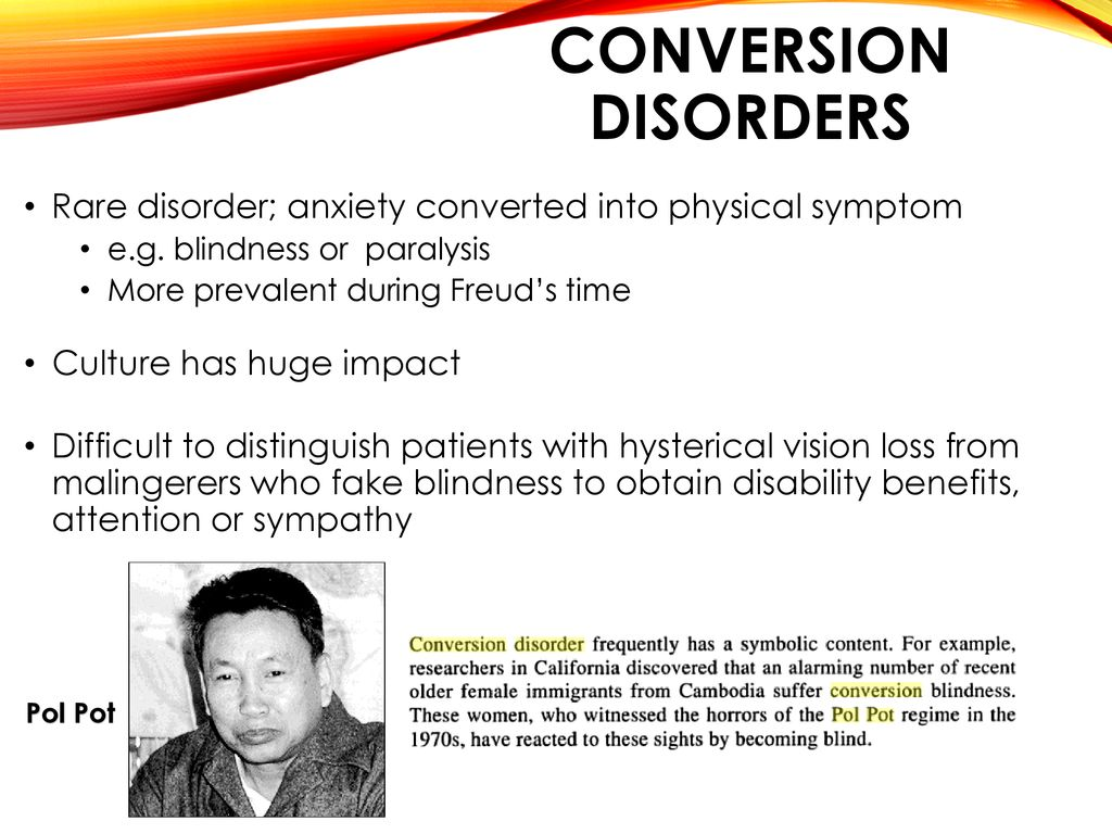 Psychological Disorders - ppt download