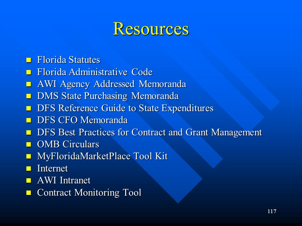Resources Florida Statutes Florida Administrative Code