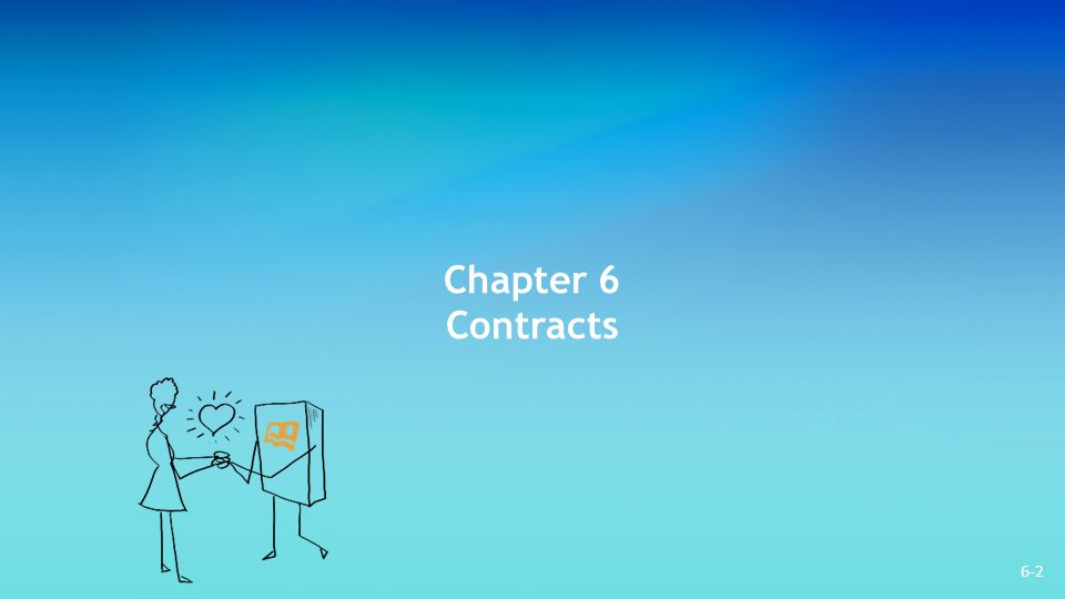 Chapter 6 Contracts