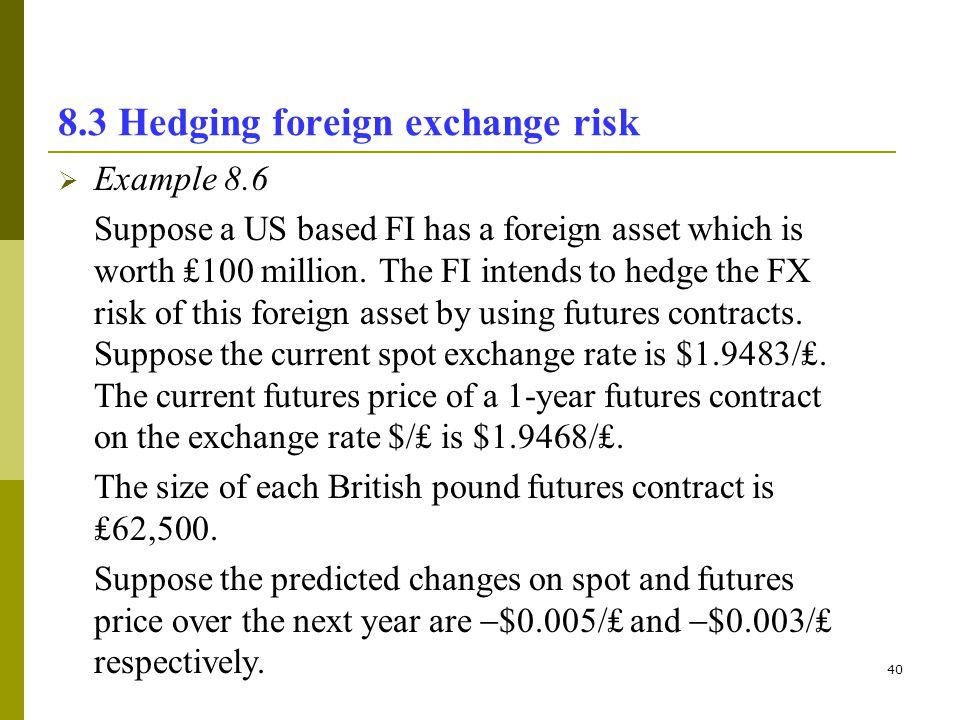 Foreign exchange risk management (currency risk management).