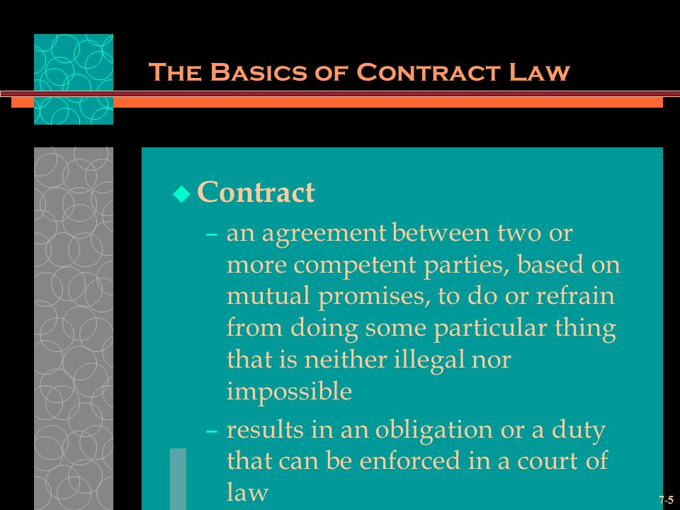 The Essentials Of Contract Law Ppt Video Online Download